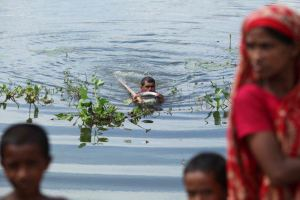 Water logging due to Climate Change in Bangladesh- Abir Abdullah/Oxfam
