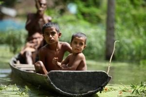 Children of Bangladesh are the worst victim of Climate Change- Abir Abdullah/Oxfam
