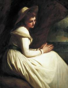 A painting of a British lady wearing  a dress made by Bengal muslin. The Painting is kept in the National Maritime Museum, London-google image
