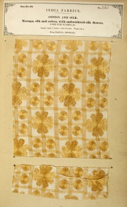 Two pieces of fabrics of Dhaka Muslin ('The Textile Manufactures of India' (1866) by John  Forbes Watson) - Google Images