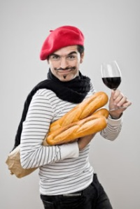 A cliché depiction of a French male - Google Images