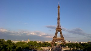 The iconic symbol of French tourism, The Eiffel Tower in Paris - Googles Images