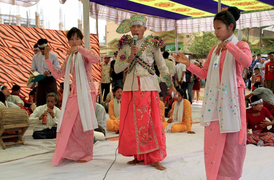 Traditional dance - Photo courtesy of the author