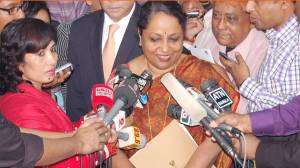 Indian Foreign Secretary Sujata Singh visited Bangladesh before 2014 election (Google Image)