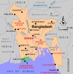 Bangladesh is surrounded by India- Google Image