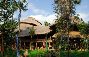 Green School (above), near Ubud, Bali