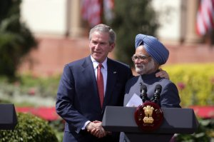 President Bush supported India's aspiration for a global power (Google Image)