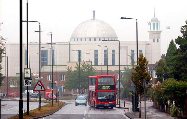 There are 350 mosques in greater London ( Google Image)