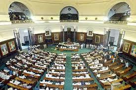 Lok Sabha inside