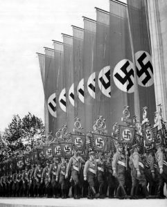 The rise of Nazism is closely linked with patriotism and nationalism-Google image
