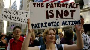 Patriot Act allows federal government to spy on innocent Americans (photo and caption- CNN.com)