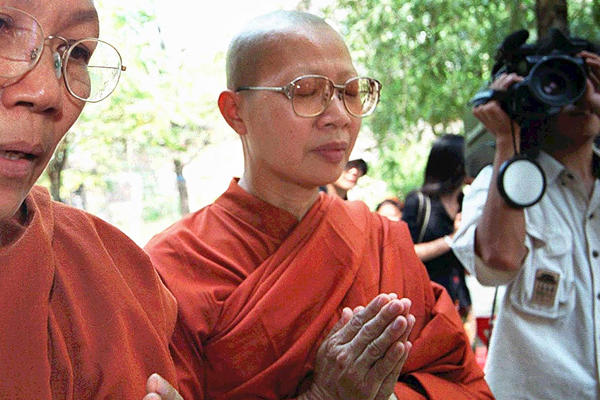 Thai Bhikkhuni's are in search of equal gender relations, both within the religious community and broader Thailand - Google Images