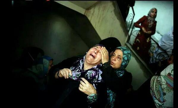 Israeli forces continue to target Palestinian civilians - Photo courtesy of 'Urgent by Gaza' Facebook page
