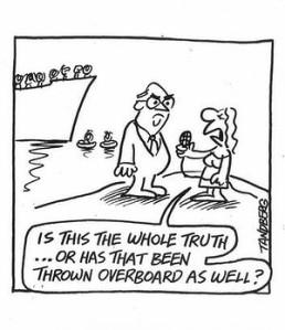 Misinformation stymies productive debate.
