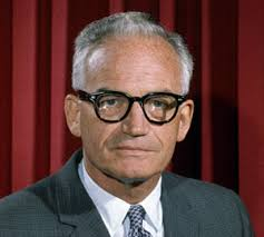 Senator Barry Goldwater, the target of the ad and ultimate loser to President Johnson in the Presidential election.