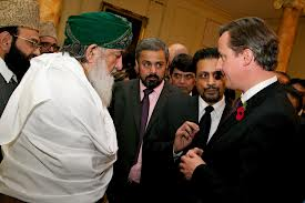 UK Prime Minister David Cameron meets with leading Immans at the British Muslim Forum earlier this year - Source: Google Images