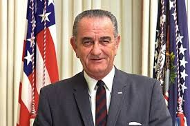 President Lyndon B. Johnson, whose re-election campaign in 1964 generated the ad.