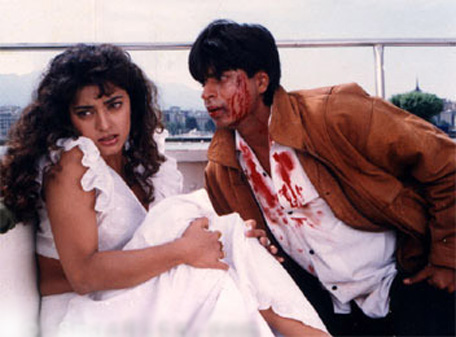 A bollywood film Darr is said to inspire Akash