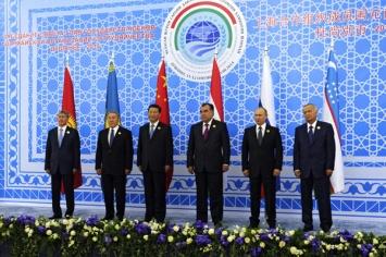 Almazbek Atambayev, Nursultan Nazarbayev, Xi Jinping, Emomali Rakhmon, Vladimir Putin, Islam Karimov
