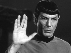 Spock is an exaggerated example of the rational subject. Source: Google Images.